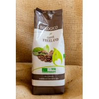 "COFFEE BIO 1000 g in beans ""FREELAND"""