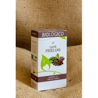 "CAFFE' BIO/FAIRTRADE 250 g. macinato ""FREELAND"""